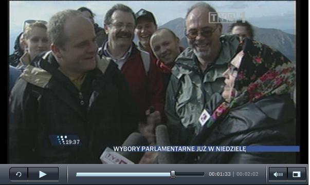 Relacja z wejścia PJN na szczyt Kasprowy Wierch