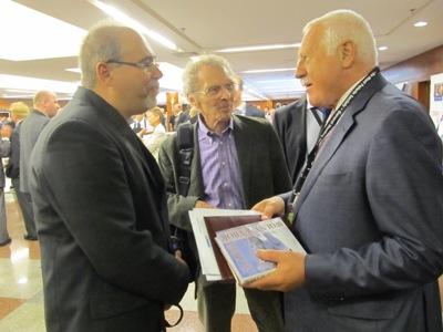 Vaclav Klaus i Krzysztof Haładus